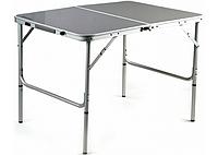 Складной туристический стол + 4 стула Folding Table (120x60 см)