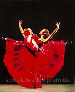 """Алмазная живопись картина """"Балерины"""" (30*40 см) Полная закладка"""