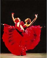 """Алмазная живопись картина """"Балерины"""" (30*40 см) Полная закладка, фото 1"""