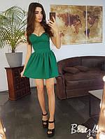 Платье бюстье с пышной юбкой (с чашками), фото 1