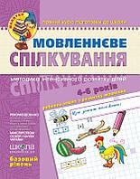 Школа Малятко Мовленнєве спілкування(Базов рів)У