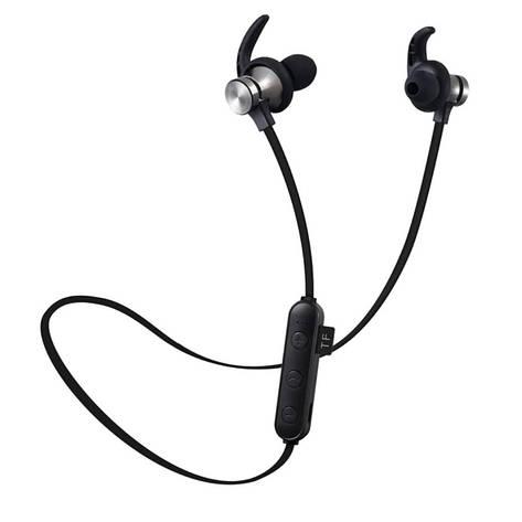 Беспроводная гарнитура 2в1 bluetooth-наушники + MP3-плеер (черный), фото 2