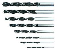 Свердло по дереву спиральное, 3-10 мм, набор 8 шт.*1 уп. Topex 60H808
