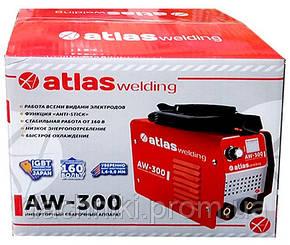 Зварювальний апарат інверторний Atlas welding AW-300, фото 2
