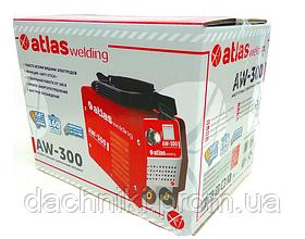 Зварювальний апарат інверторний Atlas welding AW-300, фото 3
