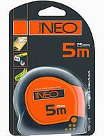 Рулетка со  стальной лентой 3м*16мм Neo 67-153