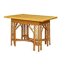 Стол плетенный из лозы Черниговчанка
