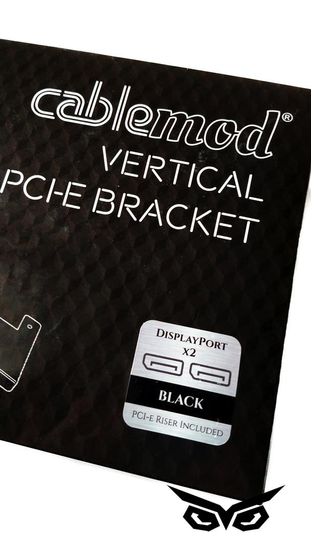 Кронштейн Cablemod Vertical PCI-e Bracket, 2x DisplayPort (CM-VPB-2DK-R)