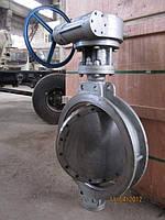 Затвор поворотный дисковый  Ду50-600