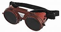 Очки защитные газосварочные, регулируются Topex 82S106