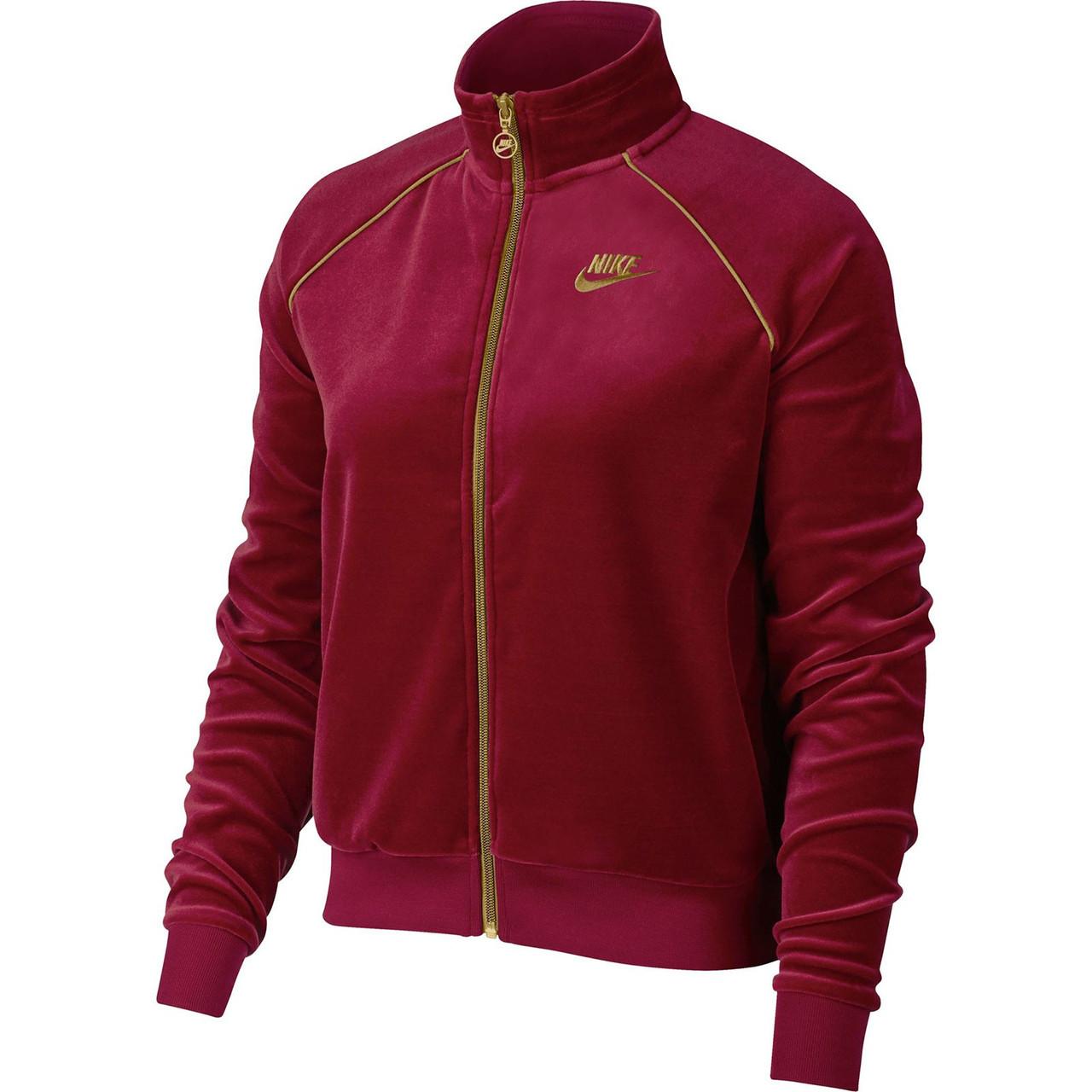 Куртки и жилетки женские W NSW TRK JKT VELOUR(02-05-08-01) S