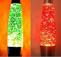 Глиттер лампа 41 см (лава лампа), фото 1