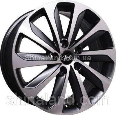 Литые диски Replica Hyundai HY124 7x17 5x114,3 ET48 dia67,1 (BP)