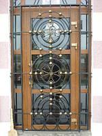 Решетчатые двери на заказ