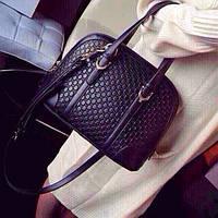 Женская кожаная сумка Gucci