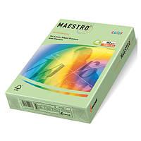 Цветная бумага А4 160 г/м2 MG28 зеленый
