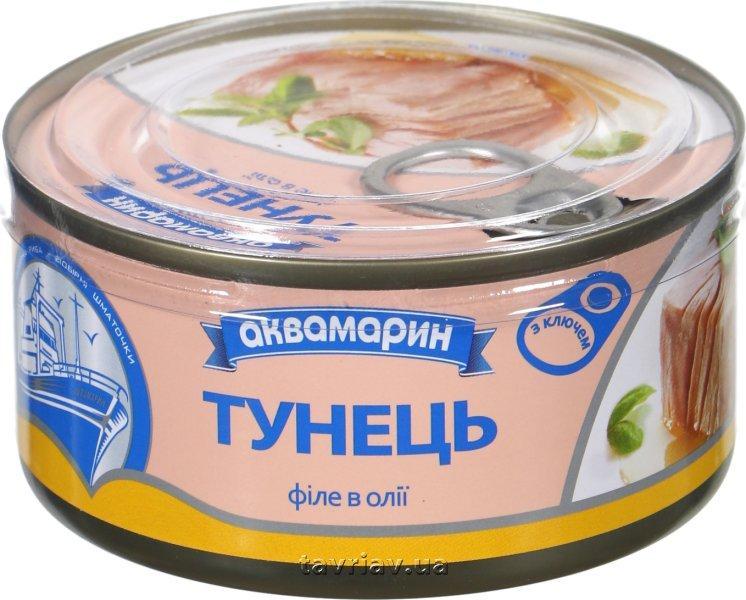 Філе Тунець в олії 185 грам