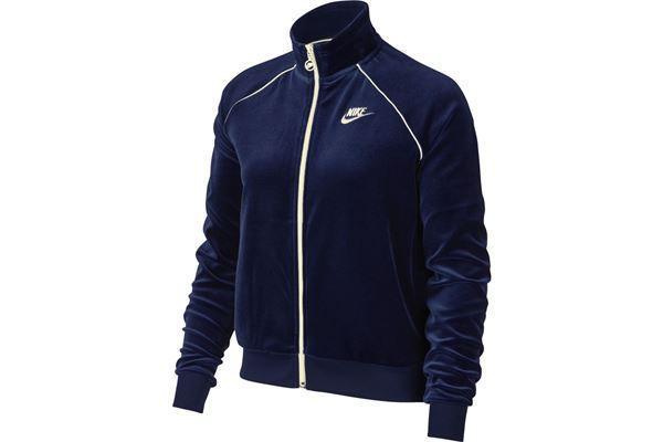 Куртки и жилетки женские W NSW TRK JKT VELOUR(02-05-01-04) S