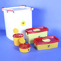 Емкости-контейнеры для медицинских отходов