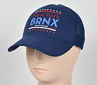 Бейсболка 5 кл сетка BRNX джинс, фото 1
