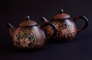 "Керамический чайник ""бамбук"""