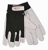 """Рукавиці робочі, спилок, розмір 10"""" Neo 97-603"""