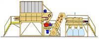 Линия по переработке отходов производства гипсокартона производительностью до 5-12т/час