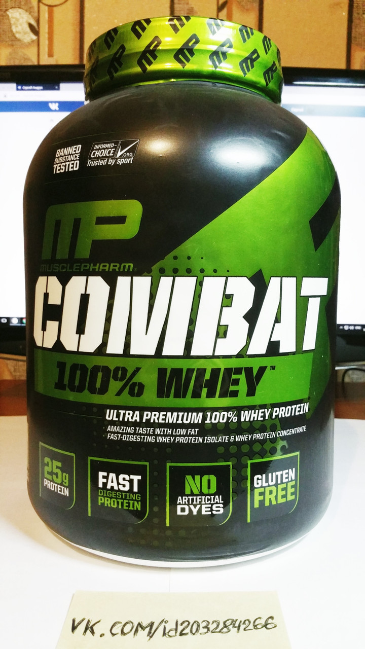 MusclePharm Combat Protein 2,27 кг