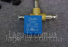 Соленоидный клапан 6 мм  данфосс danfoss (пайка). оригинал., фото 3