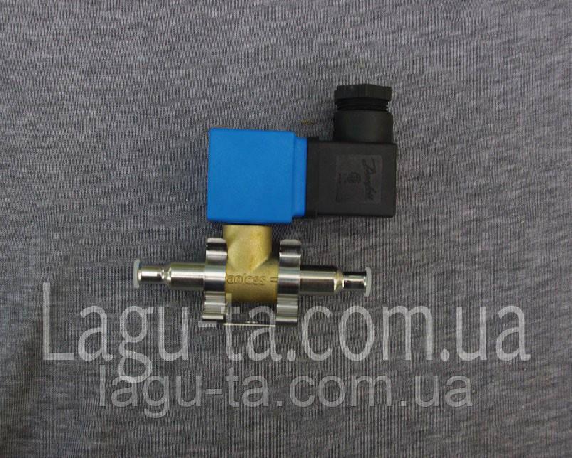 Соленоидный клапан 6 мм  данфосс danfoss (пайка). оригинал.