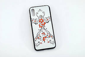 Чохол для телефону Xiaomi Redmi 7 Silicone Glass Print (M9)