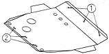 Защита картера двигателя и кпп Honda CR-V I  1995-, фото 6