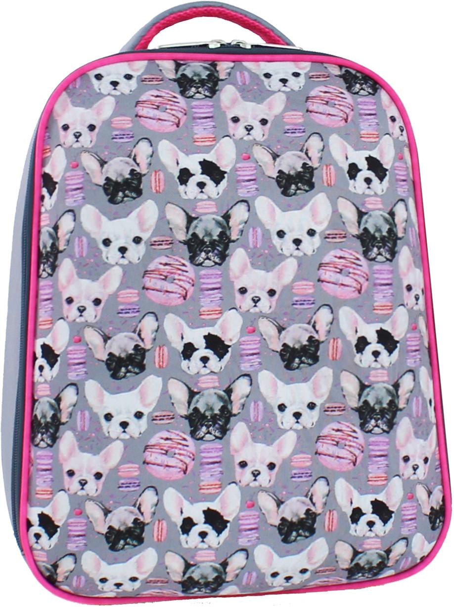 2934adcdcdcc Рюкзак школьный ортопедический Bagland Turtle 17 л. для младшей школы  розовые собачки - Интернет-
