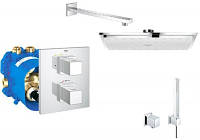 GROHE 34506000 Grohtherm Cube Набор для душа (19958+35500+27709+27479+27703+27704)