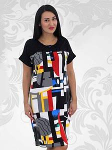 Платье женское большого размера-прямое
