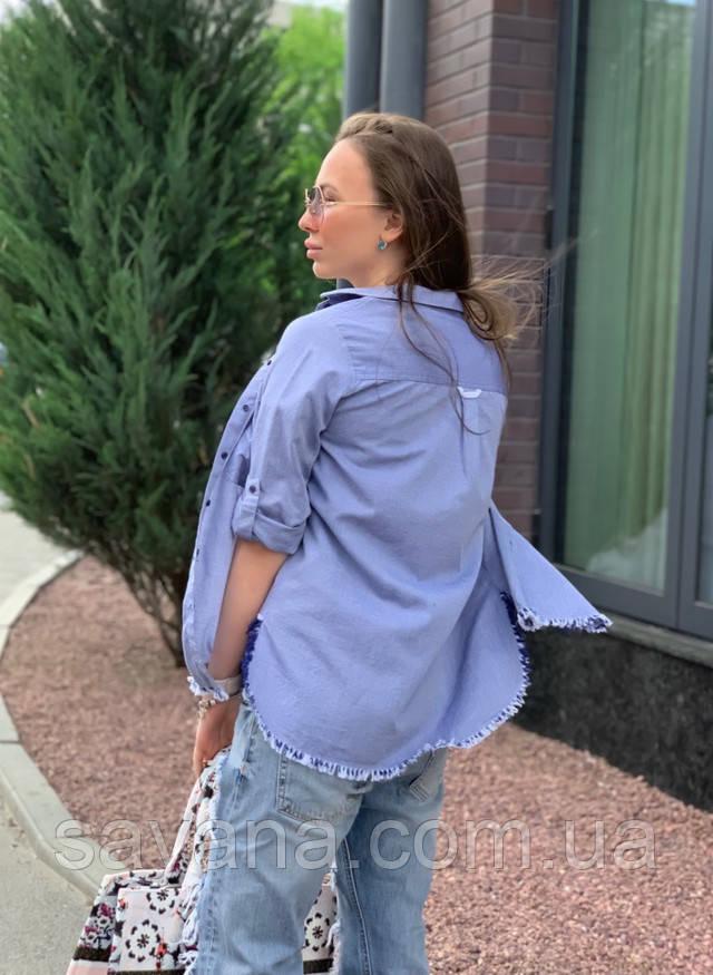 женская модная рубашка оптом