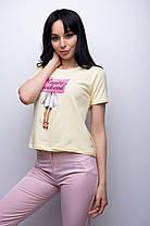 Женская футболка Happy Weekend размеры S, М, фото 2