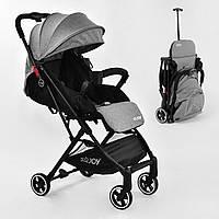 Коляска прогулянкова дитяча JOY З 308, футкавер, дощовик, телескопічна ручка, фото 1