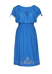 Легкое платье на резинке Винтаж