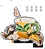 """Фарфоровая чайная пара """"Воробушек"""" (Pavone) FM- 01/ 5"""