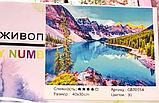 """Алмазная живопись картина """"Горы"""" (40*30 см) Полная закладка, фото 2"""