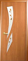 Двери Новый Стиль Камея+Р1 ольха, коллекция ПВХ Модерн Р