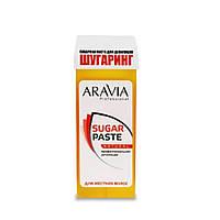 Сахарная паста для депиляции в картридже Aravia Professional Натуральная 150 г