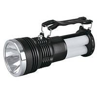 Фонарь-светильник аккумуляторный YJ-2881, фронтальный светодиод + 24SMD дополнительно, зарядка от 220V