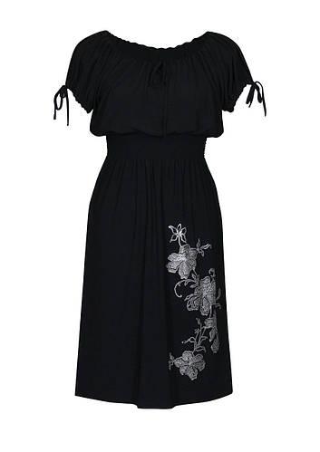 Отрезное платье на резинке Ветка