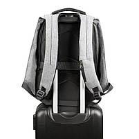 Рюкзак Tigernu T-B3622, серый, черный, фото 3