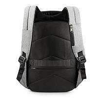 Рюкзак Tigernu T-B3622, серый, черный, фото 4
