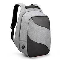 Рюкзак Tigernu T-B3622, серый, черный, фото 6