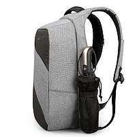 Рюкзак Tigernu T-B3622, серый, черный, фото 7