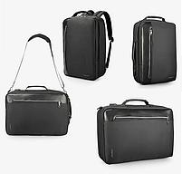 Стильный городской рюкзак Tigernu T-B3639 черный, фото 3